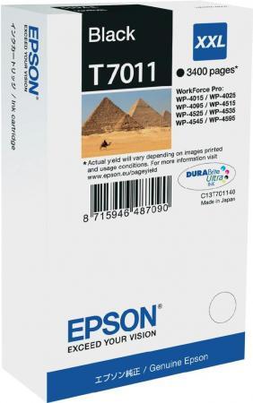 Картридж EPSON C13T70114010 черный оригинальный