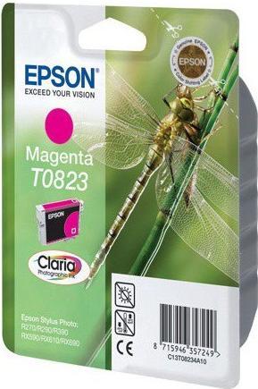Картридж EPSON T08234A пурпурный оригинальный