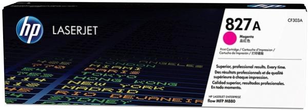 Картридж CF303A для HP пурпурный