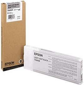 Картридж Epson T6069 светло-серый оригинальный