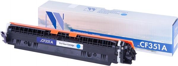 Картридж совместимый NVPrint CF351A для HP голубой