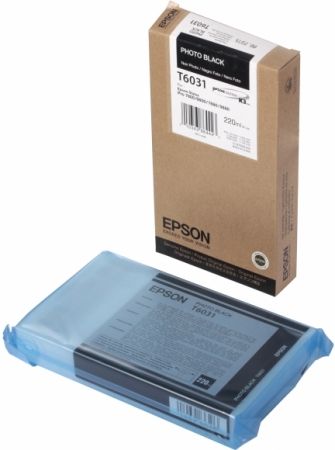 Картридж EPSON T6031 (C13T603100) черный оригинальный