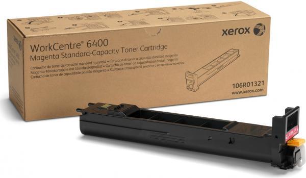 Тонер-картридж XEROX 106R01321 WC 6400 пурпурный CNL оригинальный