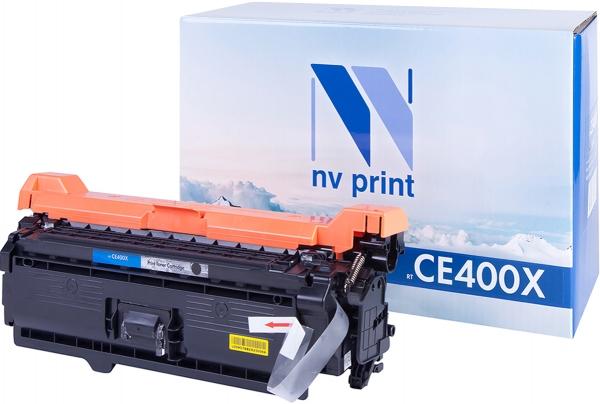 Картридж совместимый NVP CE400X черный для HP