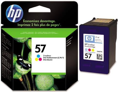 Картридж HP C6657АE трехцветный совместимый Lomond