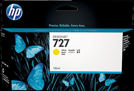 Картридж HP B3P21A желтый оригинальный
