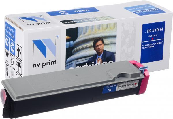 Картридж Kyocera TK-510M пурпурный совместимый NV Print