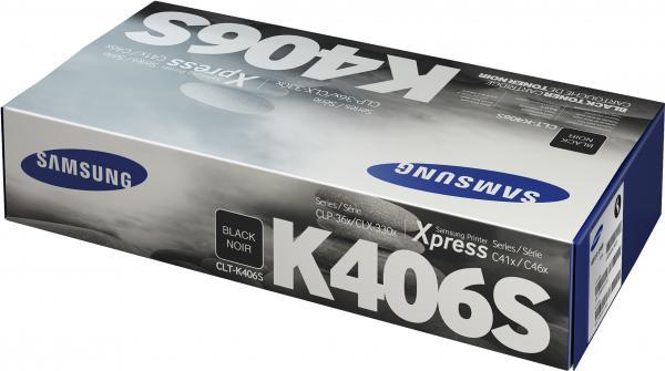 Картридж Samsung CLT-K406S черный UNITON Eco