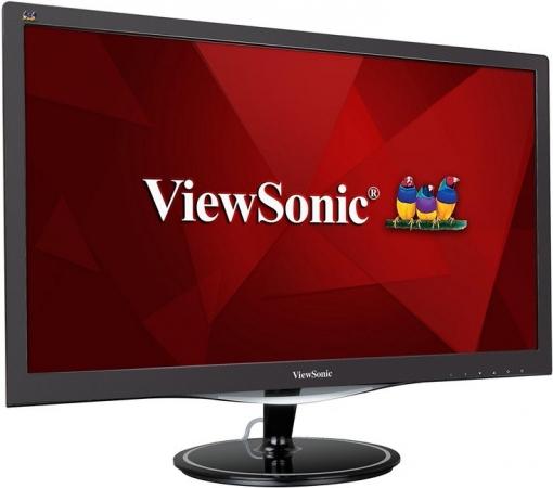 "Монитор 23.6"" Viewsonic VX2457-MHD Glossy Black"