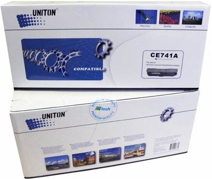 Картридж совместимый UNITON Premium CE741A (307A) синий для HP