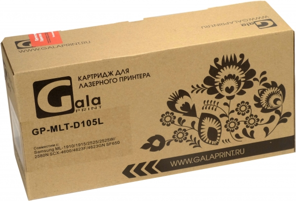 Картридж совместимый GalaPrint MLT-D105L для Samsung