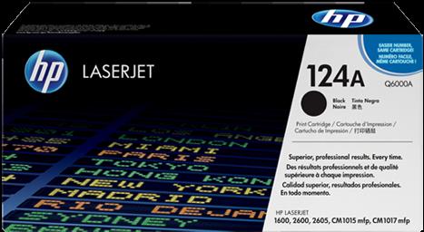 Картридж HP Q6000A черный оригинальный