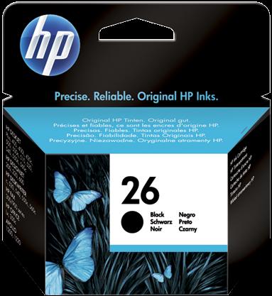 Картридж HP 51626AE черный оригинальный