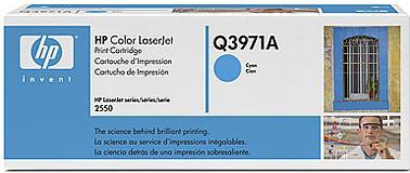 Картридж HP Q3971А голубой оригинальный