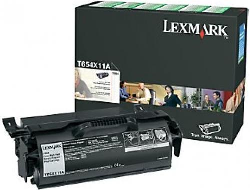 Картридж Lexmark T654X11E оригинальный