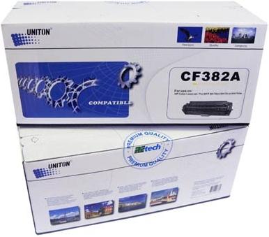 Картридж совместимый UNITON Premium CF382A (312A) желтый для HP