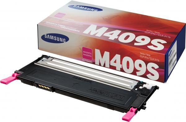 Тонер-картридж Samsung CLT-M409S пурпурный (оригинальный)