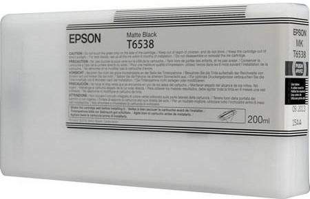 Картридж Epson T6538 (C13T653800) матово-черный оригинальный