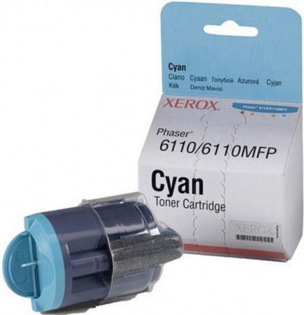 Картридж XEROX 106R01206 голубой оригинальный