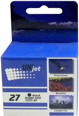 Картридж совместимый Unijet C8727A (27) черный для HP