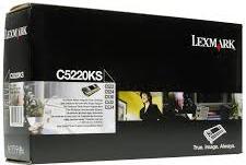 Картридж Lexmark C5220KS черный оригинал