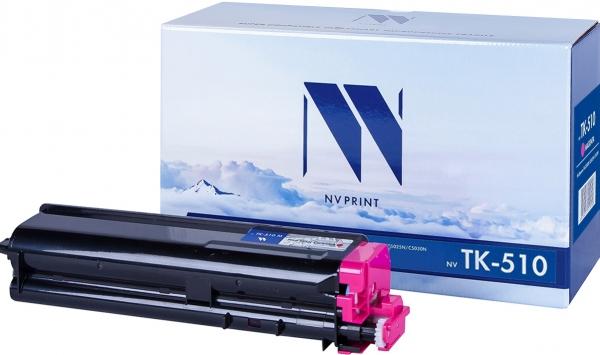 Картридж совместимый NVPrint TK-510 для Kyocera пурпурный