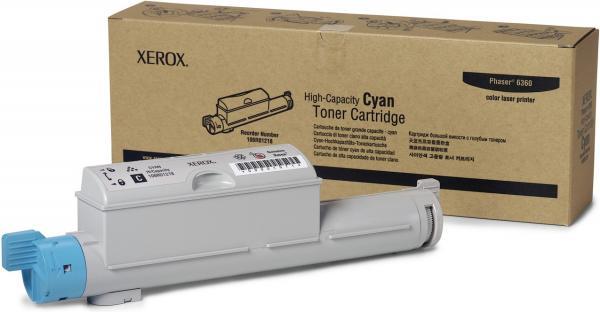 Картридж XEROX 106R01218 голубой оригинальный