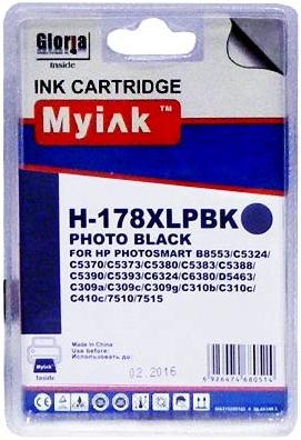 Картридж совместимый MyInk CB322 черный для HP
