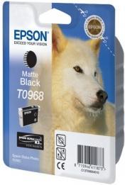 Картридж EPSON C13T09684010 матово-черный оригинальный