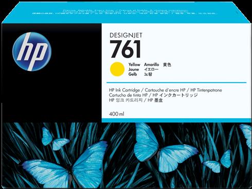 Картридж HP CM992A желтый оригинальный