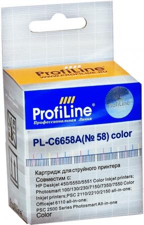 Картридж совместимый ProfiLine C6658AE для HP
