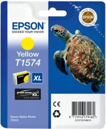 Картридж EPSON T15744010 желтый оригинальный