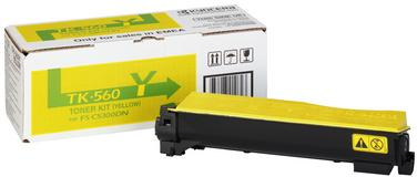 Картридж Kyocera TK-560Y желтый оригинальный