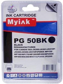 Картридж совместимый MyInk PG-50 черный для Canon