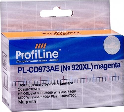 Картридж совместимый ProfiLine CD973AE №920XL для HP пурпурный