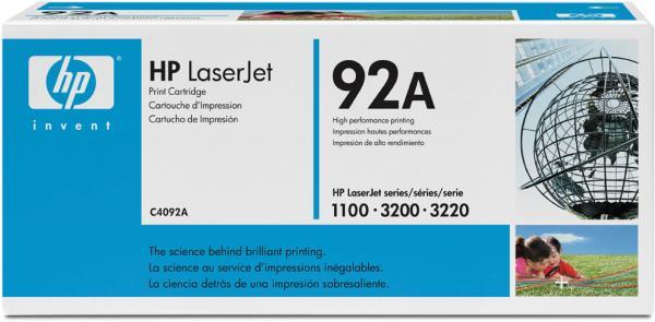 Картридж HP C4092A черный оригинальный