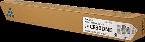 Принт-картридж SPC830DNE для Ricoh голубой