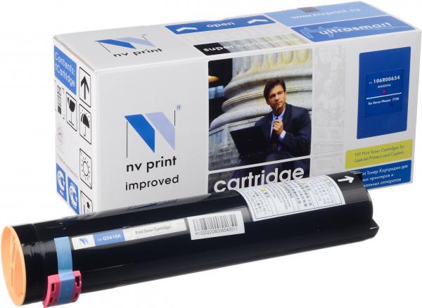 Тонер-картридж совместимый NV Print 106R00654 пурпурный для Xerox