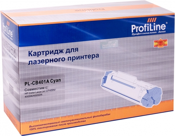 Картридж совместимый ProfiLine CB401A Cyan для HP