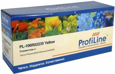Картридж совместимый ProfiLine 106R02235 желтый для Xerox