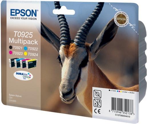 Картридж EPSON T09254A10 четырехцветный оригинальный