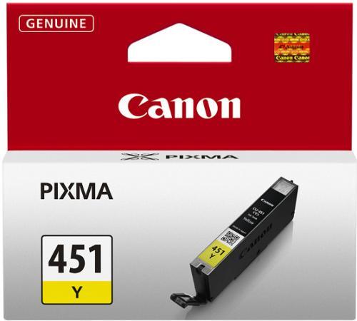 Картридж CANON CLI-451Y желтый оригинальный
