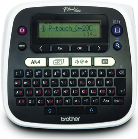 Принтер для изготовления наклеек Brother PTD-200R1