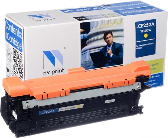 Картридж совместимый NV Print CE252A желтый для HP
