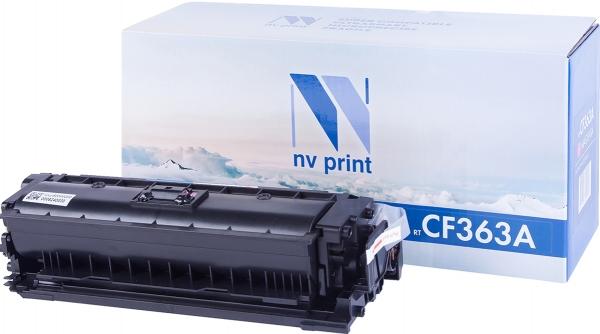 Картридж совместимый NVPrint CF363A для НР пурпурный