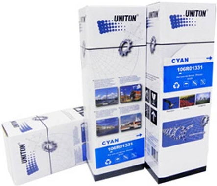 Картридж Xerox 106R01335 голубой совместимый UNITON Premium