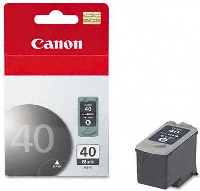 Картридж Canon Ink PG-40 черный оригинальный