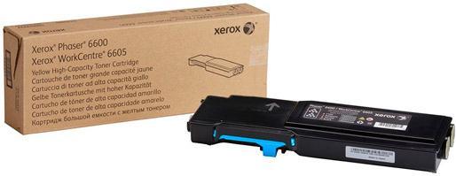 Картридж XEROX 106R02249 голубой оригинальный