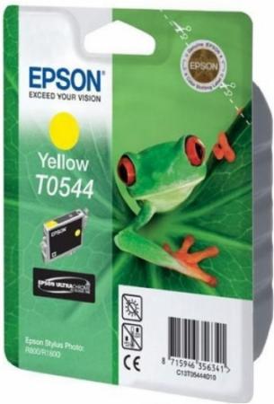 Картридж EPSON T054440 желтый оригинальный