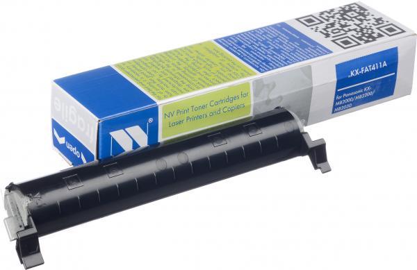 Тонер-картридж Panasonic KX-FAT411A совместимый NV Print